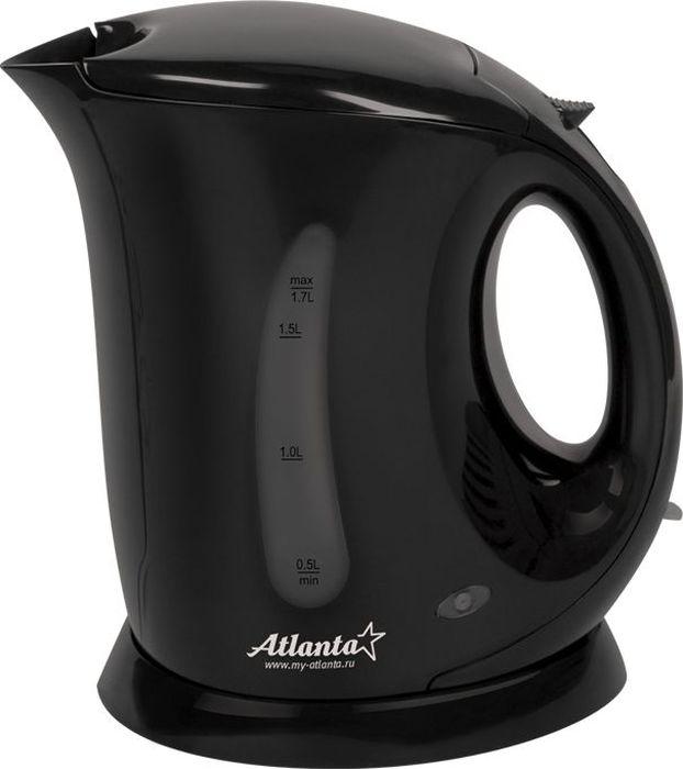 Электрический чайник Atlanta ATH-748, Black чайник atlanta ath 748