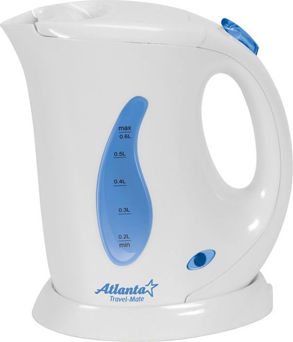 Электрический чайник Atlanta ATH-721, White цена и фото