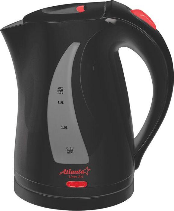Atlanta ATH-673, Black чайник электрический