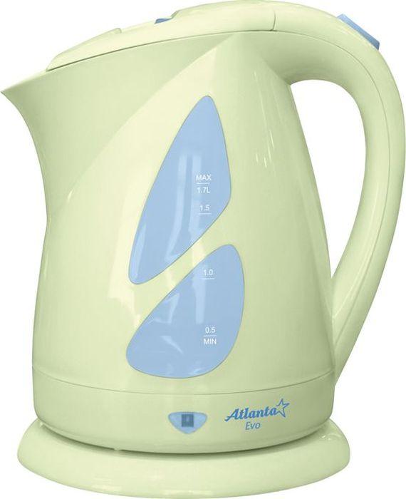 Atlanta ATH-643, Green чайник электрический чайник atlanta ath 643 зеленый
