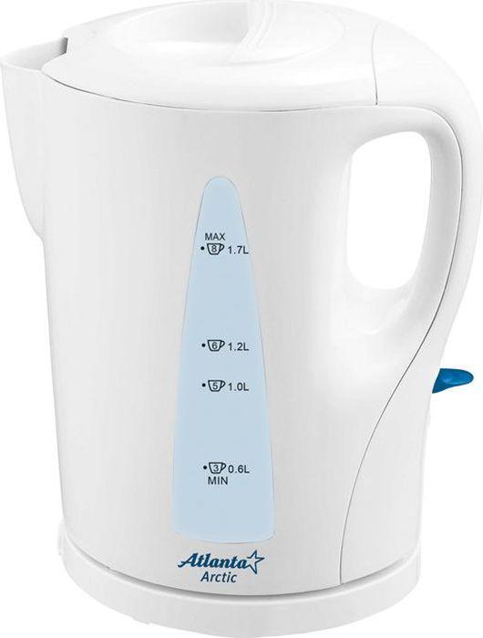Atlanta ATH-2301, White чайник электрический