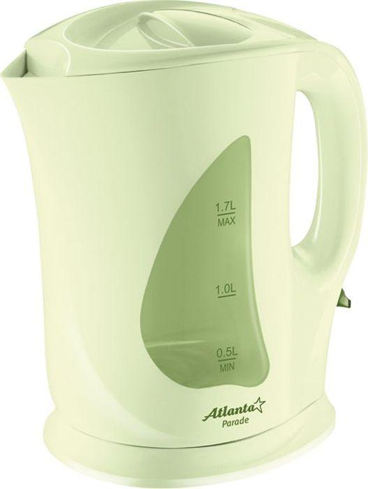 Электрический чайник Atlanta ATH-723, Green цена и фото