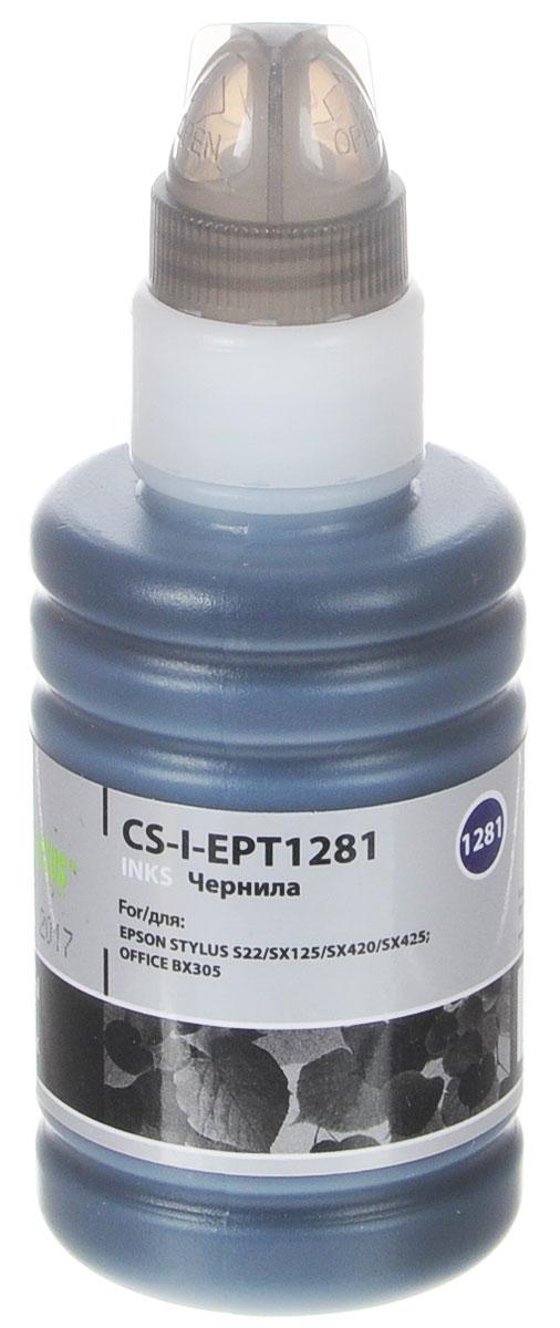 Cactus CS-I-EPT1281, Black чернила для Epson Stylus S22/SX125/SX420/SX425