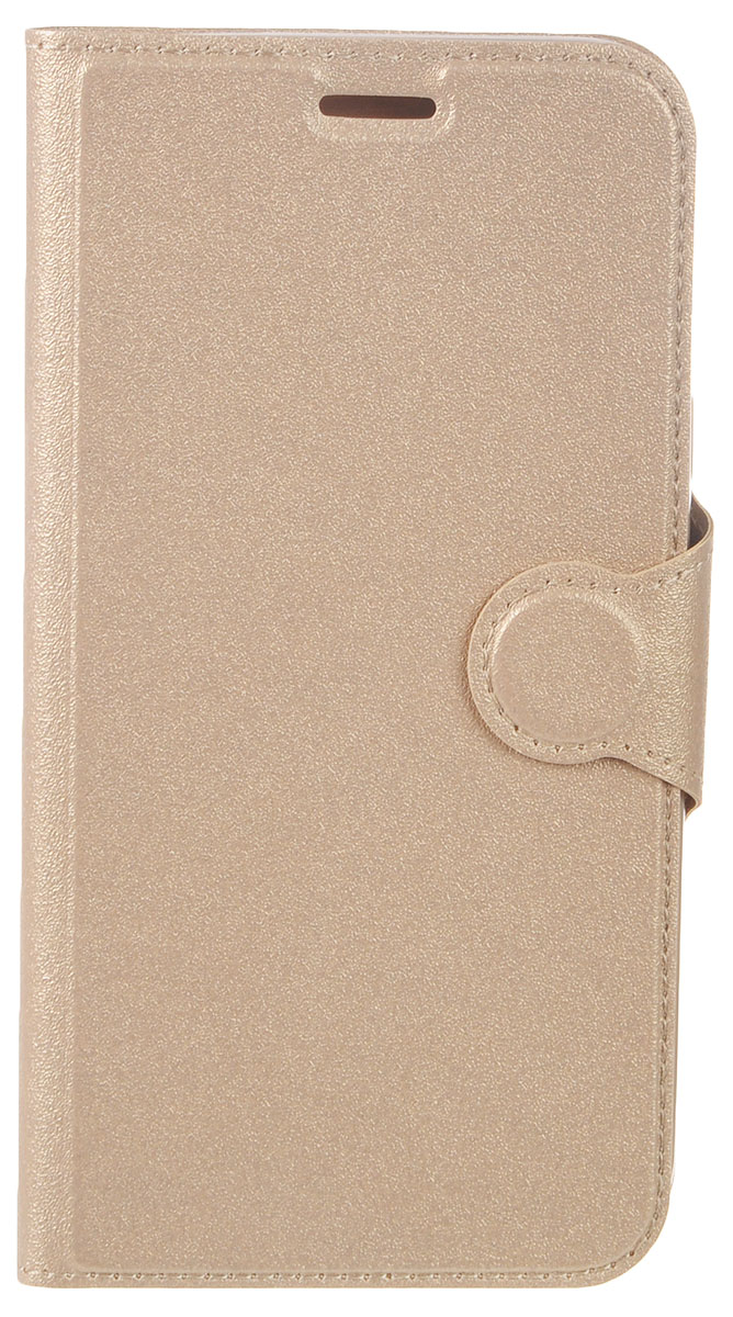 Red Line Book Type чехол для Samsung Galaxy J5 (2017), Gold цена