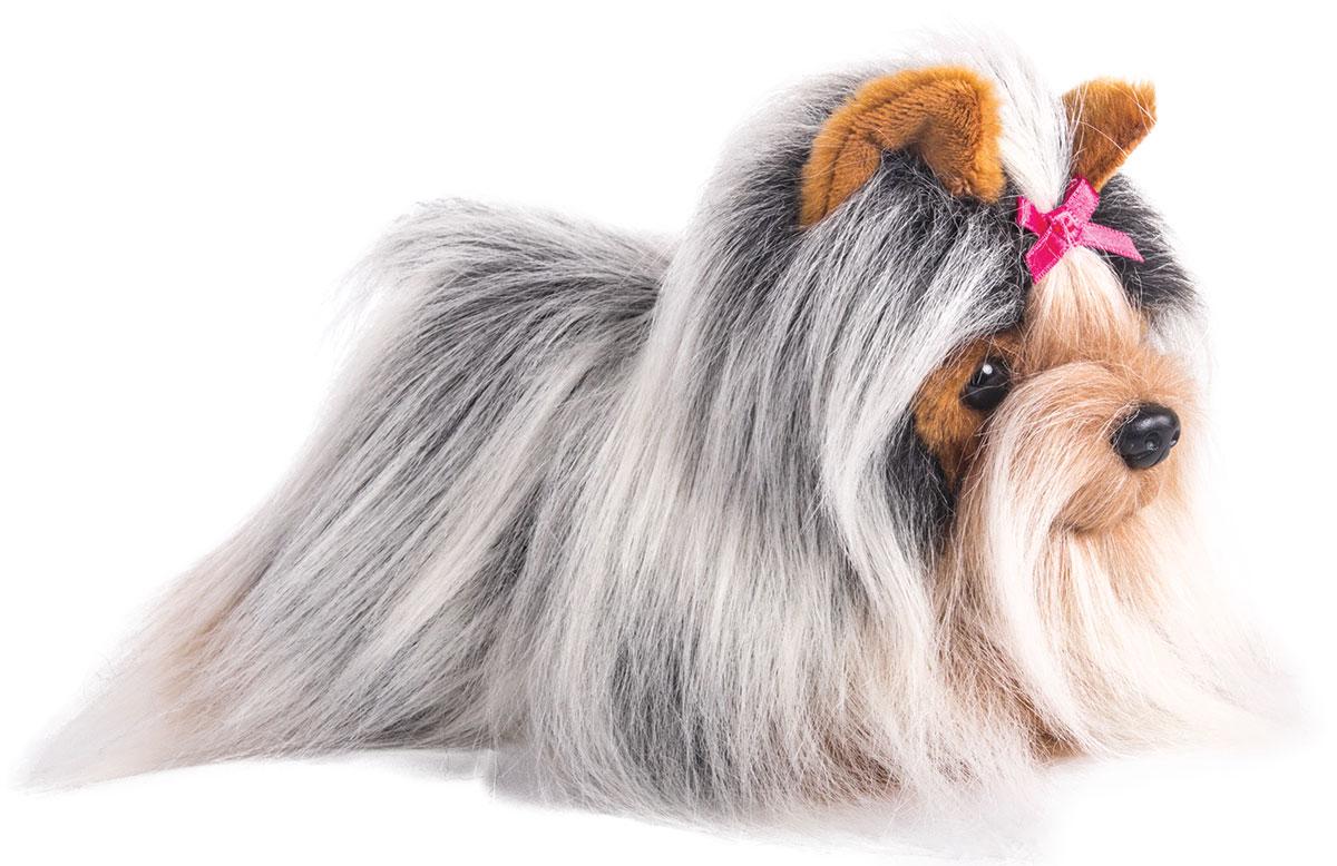 купить Gulliver Мягкая игрушка Йоркширский терьер сидит 20 см по цене 845 рублей