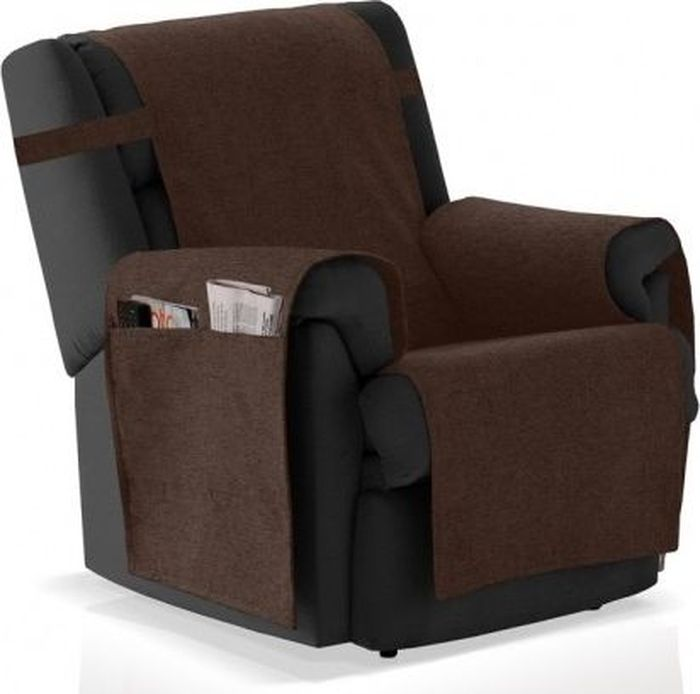 Накидка на кресло Медежда Иден, цвет: шоколадный цена