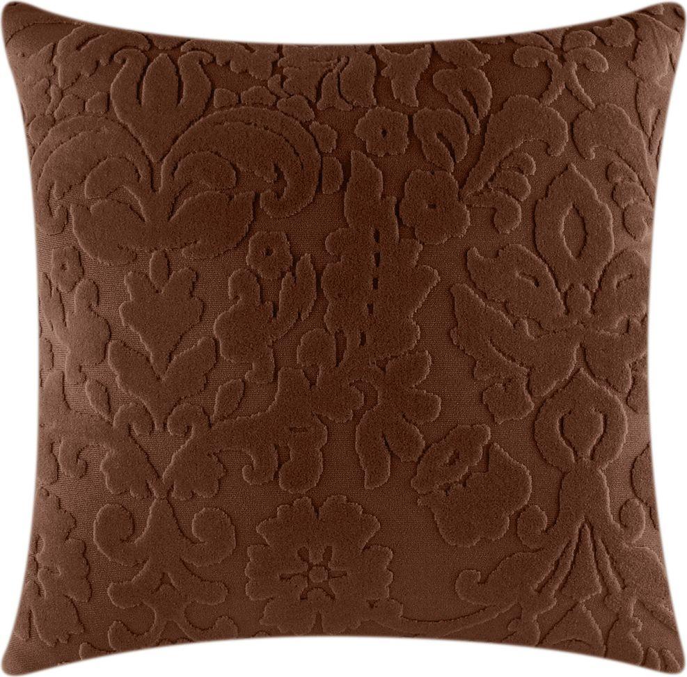 Чехол для подушки Медежда Челтон, цвет: шоколадный цена