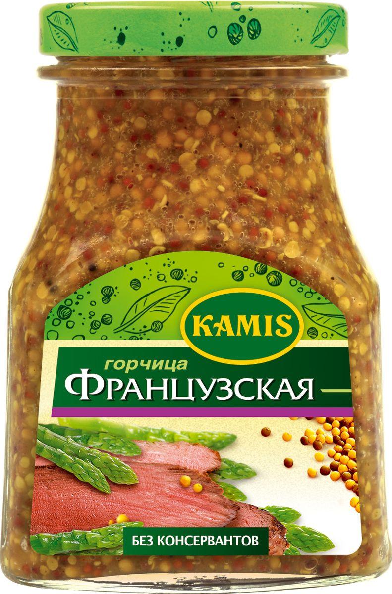 Kamis горчица французская, 185 г