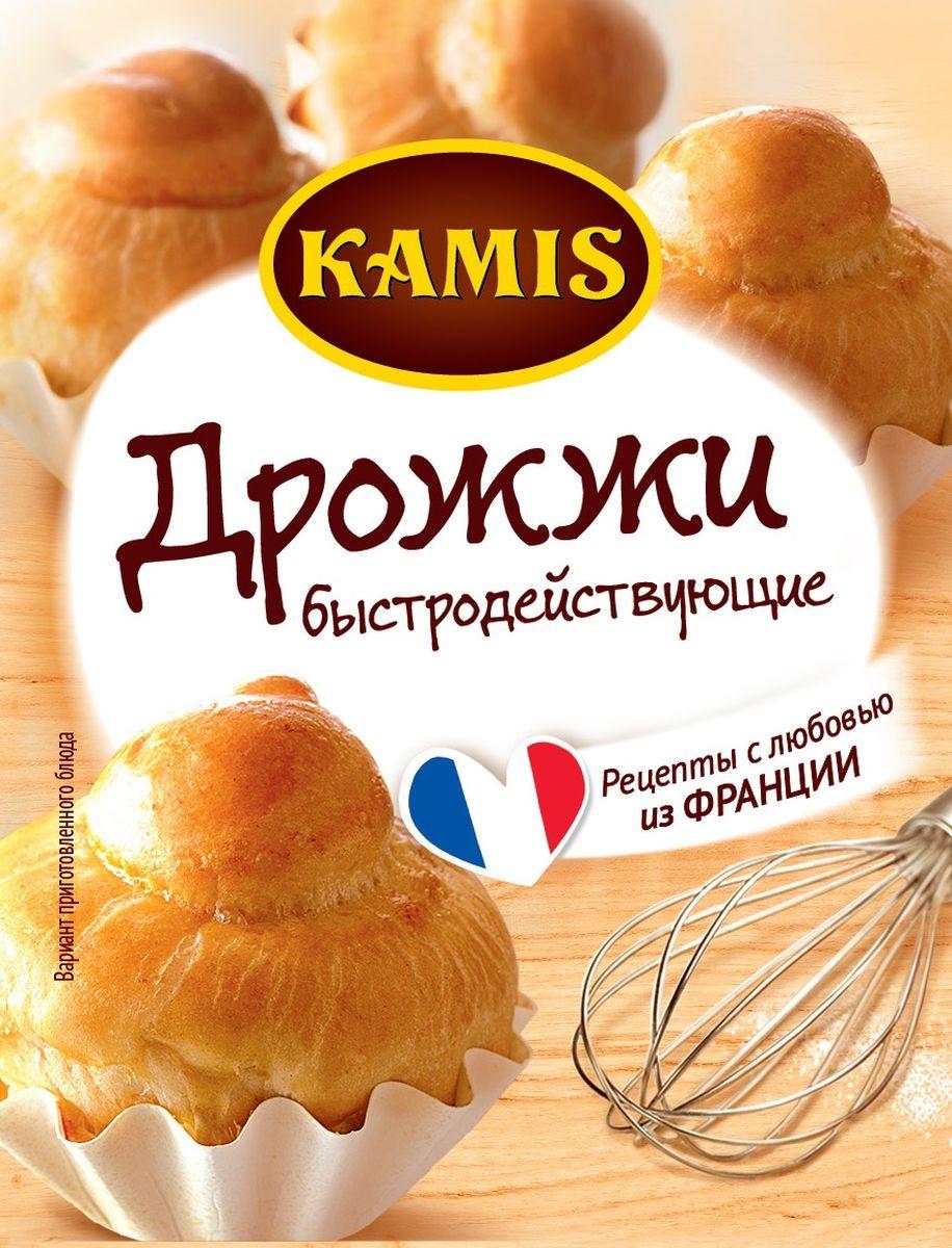 Kamis дрожжи быстродействующие хлебопекарные сухие, 7 г дрожжихлебопекарныесухиедомашняя кухня 12 г