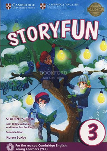 Storyfun for Movers: Level 3: Student's Book with Online Activities and Home Fun Booklet cambridge plays the pyjama party elt edition cambridge storybooks