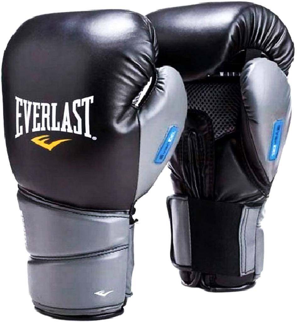 Перчатки боксерские Everlast Protex2 Gel, цвет: черный, 12 oz. 3112GLSMU перчатки боксерские everlast pro style elite 2112e цвет красный 12 oz
