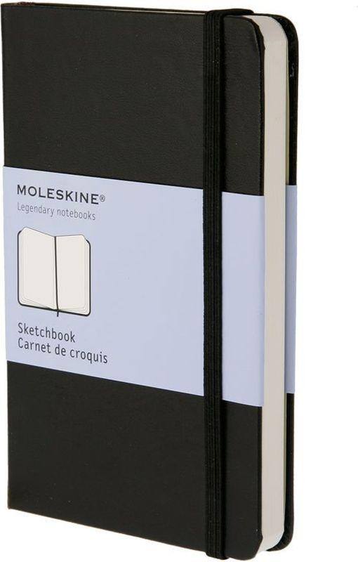 Фото - Moleskine Скетчбук Classic Pocket 40 листов без разметки цвет черный блокнот moleskine classic для рисунков красный
