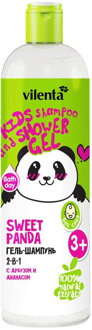 Vilenta Гель для душа Sweet Panda, 400 мл шампунь гель vilenta
