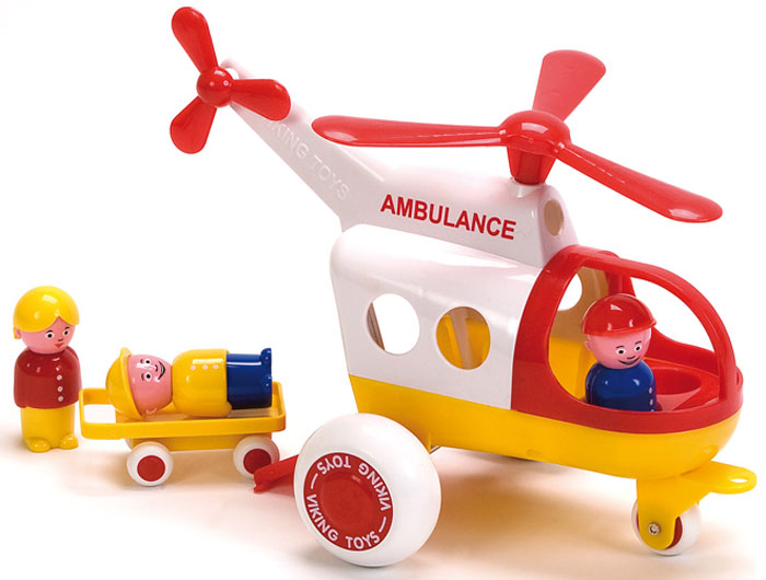 Фото - Viking Toys Вертолет Скорая помощь Джамбо 30 см viking toys вертолет скорая помощь джамбо 30 см