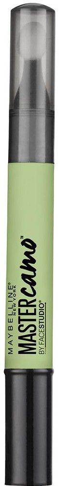"Maybelline New York Консилер для цветокоррекции лица ""Master Camo"", оттенок 10, Зеленый, 1,5 мл"