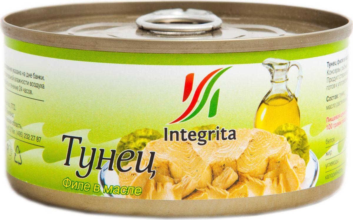 Integrita тунец филе в масле, 185 г integrita x5 10tb black