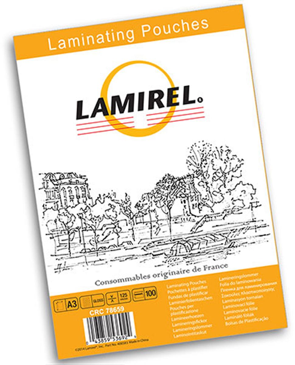 Lamirel А3 LA-78659 пленка для ламинирования, 125 мкм (100 шт)CRC78659Пакетная пленка Lamirel предназначена для защиты документов от нежелательных внешних воздействий. Обеспечивает улучшенную защиту от грязи, пыли, влаги. Документ дополнительно получает жесткость на изгиб и защиту от механического воздействия и потертостей. Идеально подходит для интенсивной эксплуатации. Глянцевое покрытие улучшает внешний вид документа: краски становятся глубже, ярче и контрастнее. Пленка для ламинирования Lamirel поставляется по 100 шт. в фирменной цветной упаковке.