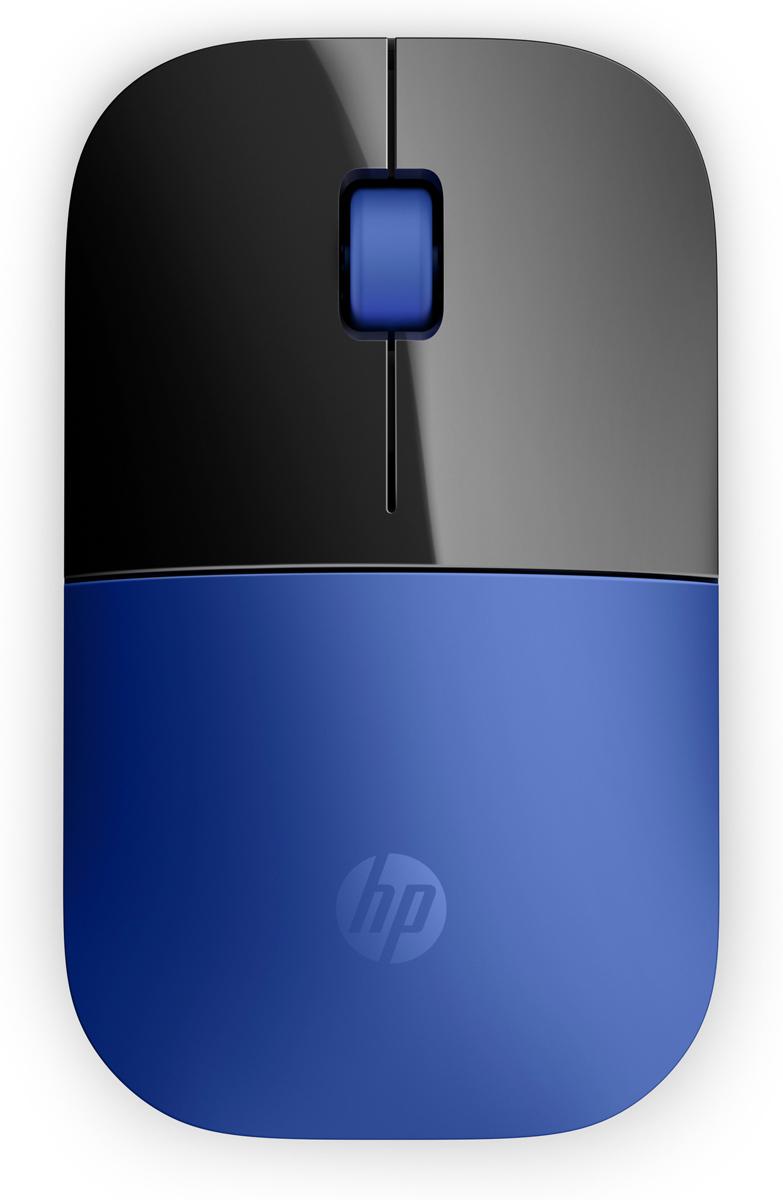 Мышь HP Z3700, Blue мышь hp z3700 wireless cardinal red cons v0l82aa