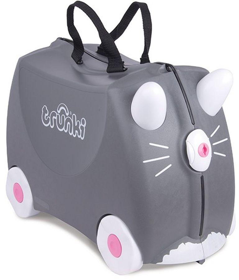Trunki Чемодан детский Котенок Бенни детские чемоданы trunki детская каталка чемодан taxi tony тони таксист
