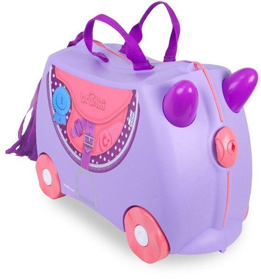 Trunki Чемодан детский Пони детские чемоданы trunki детская каталка чемодан taxi tony тони таксист