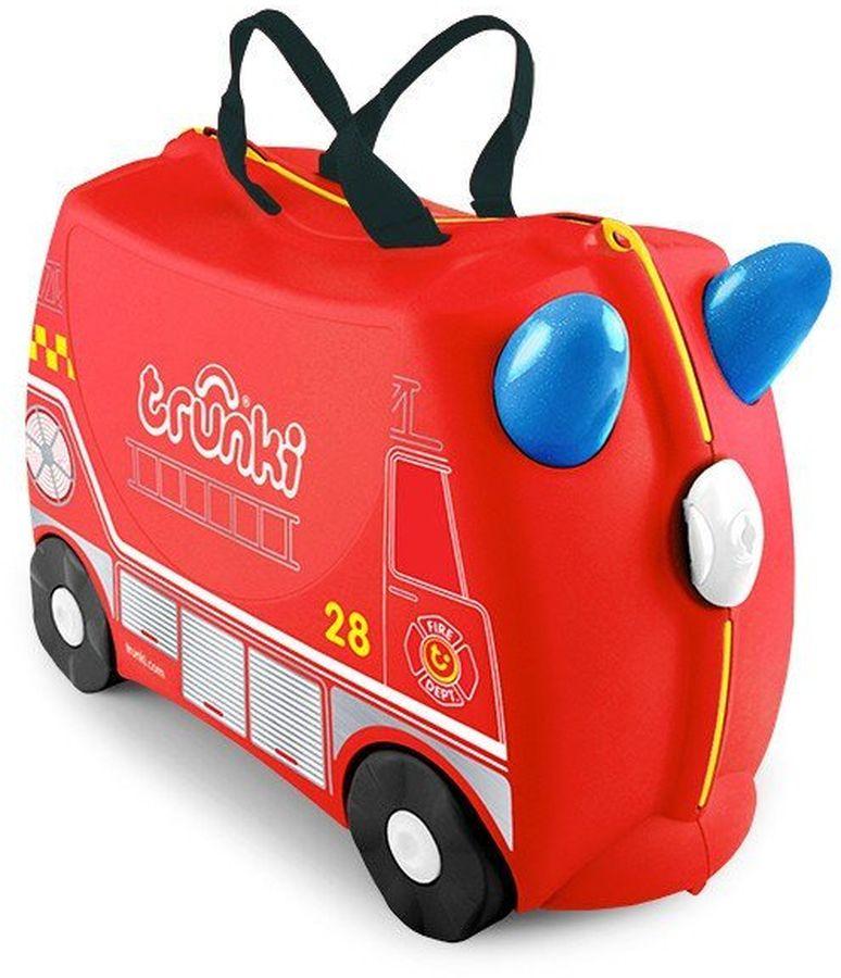 Trunki Чемодан детский Фрэнк детские чемоданы trunki детская каталка чемодан taxi tony тони таксист