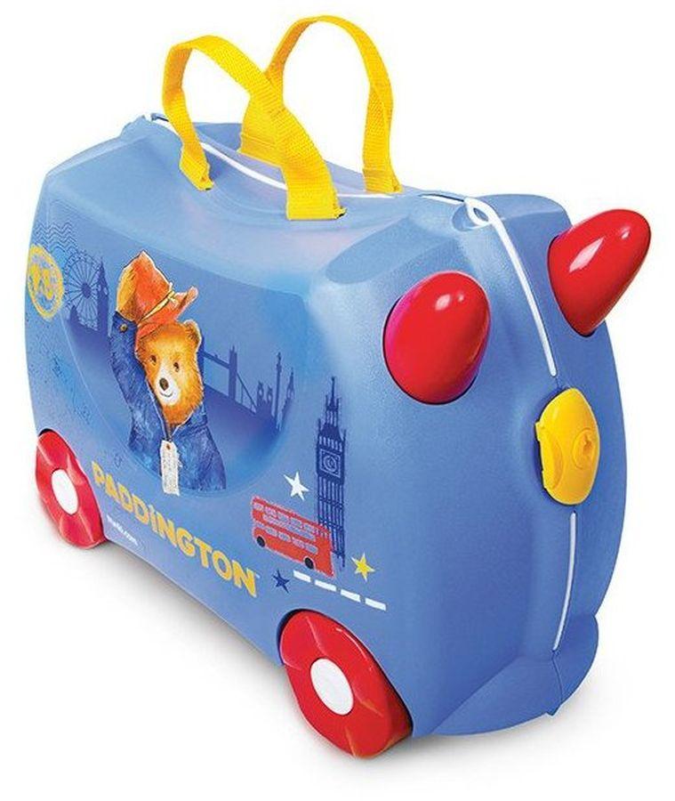 Trunki Чемодан детский Медвежонок Паддингтон детские чемоданы trunki детская каталка чемодан taxi tony тони таксист