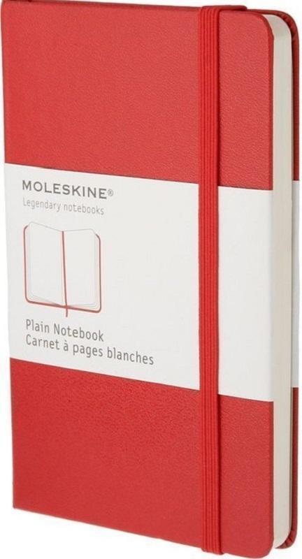 Moleskine Записная книжка Classic Pocket 96 листов без разметки цвет красный