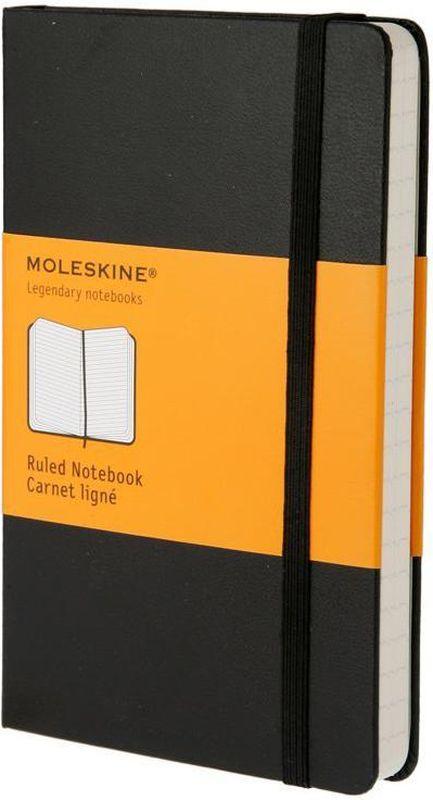 Moleskine Записная книжка Classic Pocket 96 листов в линейку цвет черный записная книжка на замочке моей любимой подружке 50 листов в линейку