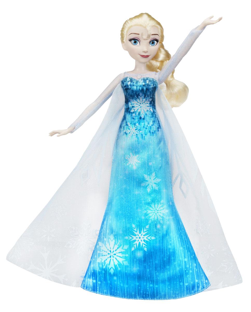 b314e5f6583 Disney Frozen Кукла Эльза в музыкальном платье — купить в интернет-магазине  OZON.ru с быстрой доставкой