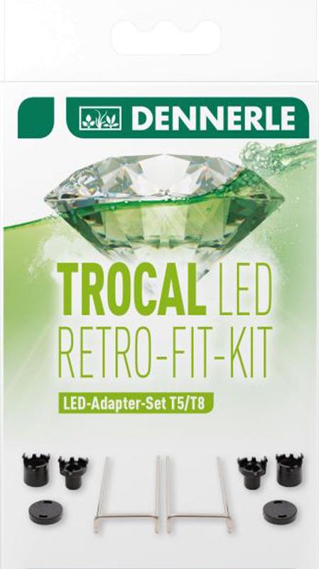 Набор адаптеров Dennerle Trocal LED Retro Fit Kit для установки LED светильника в светильники T5/T8 светильники для сада led