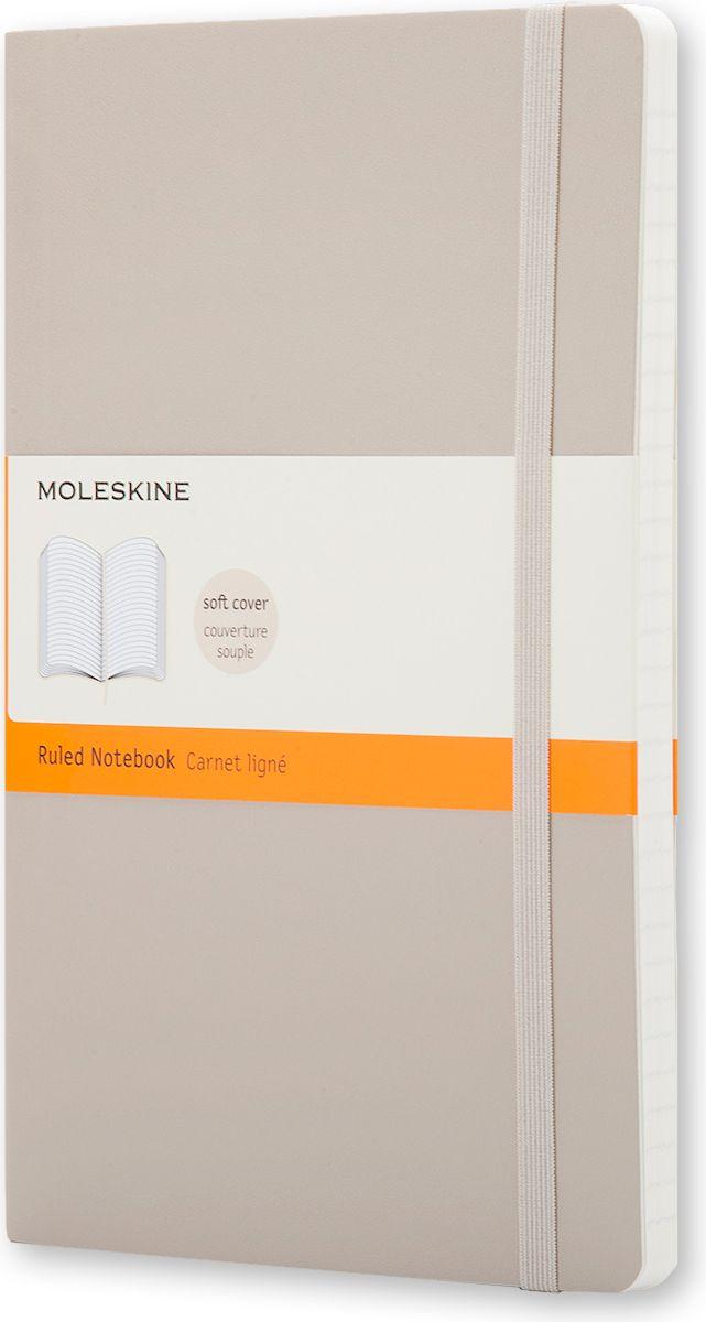 Moleskine Записная книжка Classic Soft Large 96 листов в линейку цвет бежевый