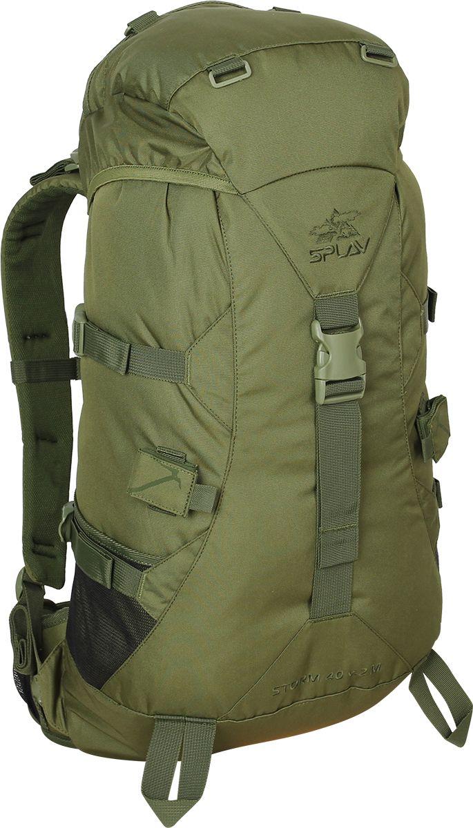Рюкзак туристический Сплав Storm 40 M, цвет: оливковый, 40 л