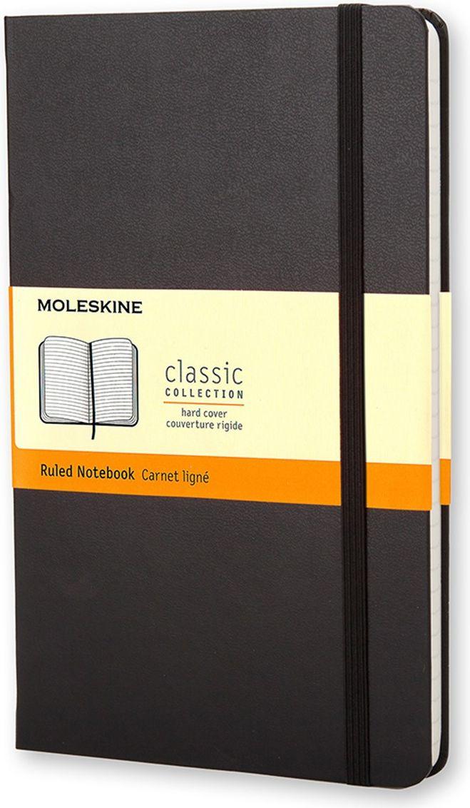 Moleskine Записная книжка Classic Large 120 листов в линейку цвет черный