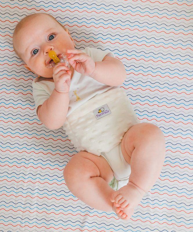 Pecorella Поясок от колик Baby Nurse цвет светло-бежевый