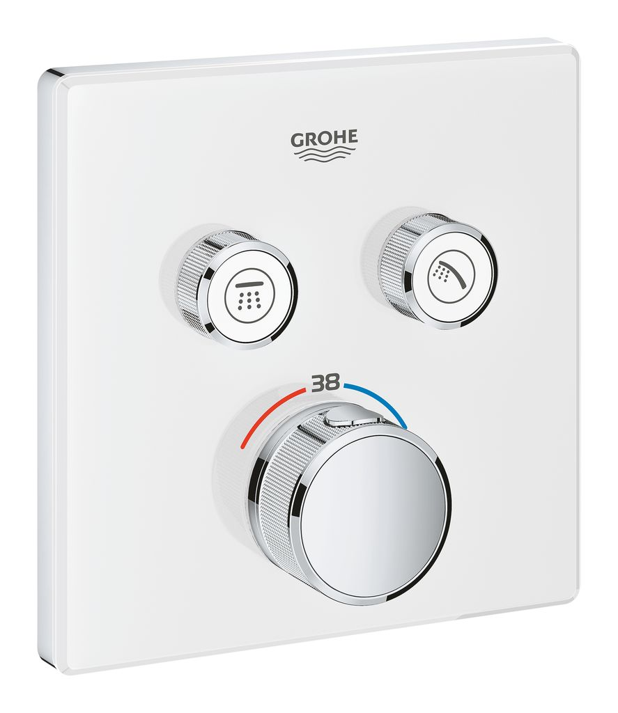Внешняя часть термостата Grohe Grohtherm SmartControl. 29156LS0 набор подключения для универсального термостата grohe 47533000