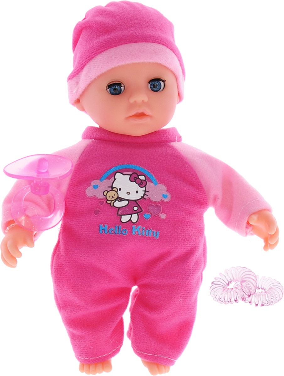 Карапуз Пупс озвученный Hello Kitty цвет розовый 20 см