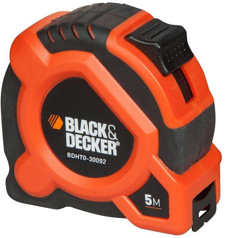 Рулетка Black & Decker, длина 5 м. BDHT0-30092