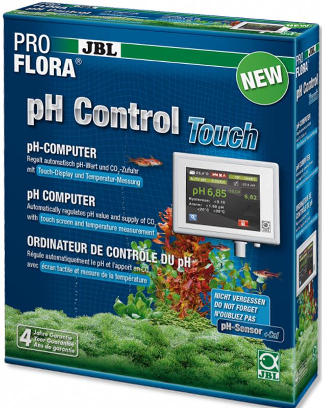цена на pH-контроллер JBL ProFlora pH Control Touch, для автоматической регулировки подачи CO2