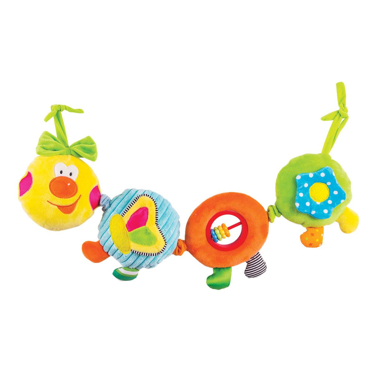 Happy Snail Игрушка-подвеска Веселая гусеница Камилла игрушка трансформер happy baby гусеница