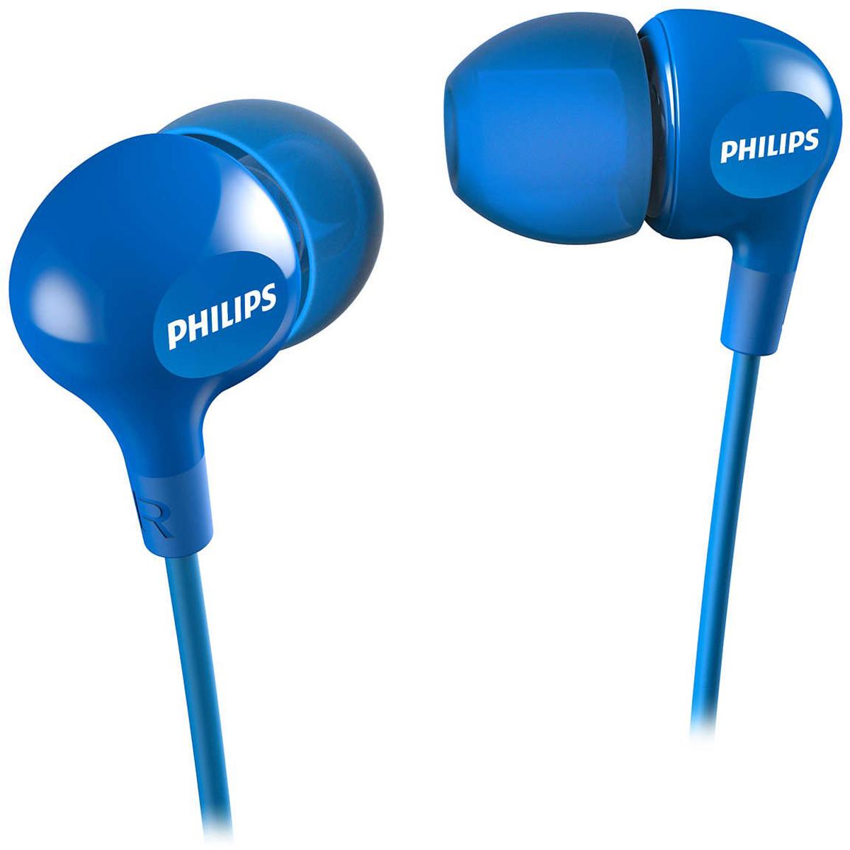 цена на Philips SHE3550, Blue наушники