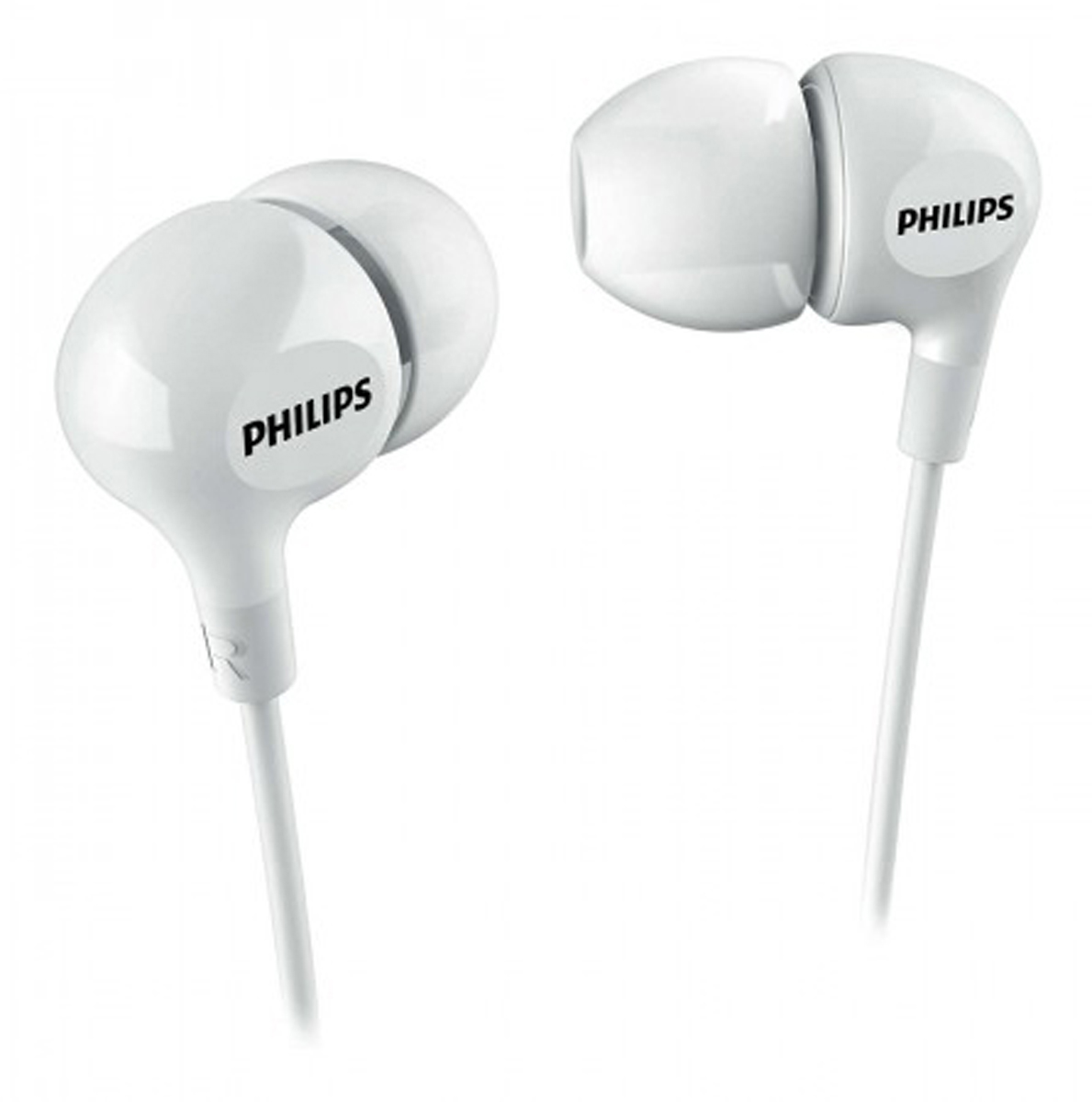 Philips SHE3550, White наушники наушники philips she1450 white