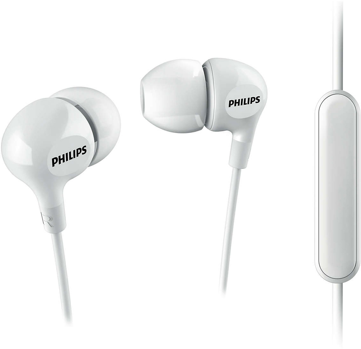Philips SHE3555, White наушники наушники philips she1450 white