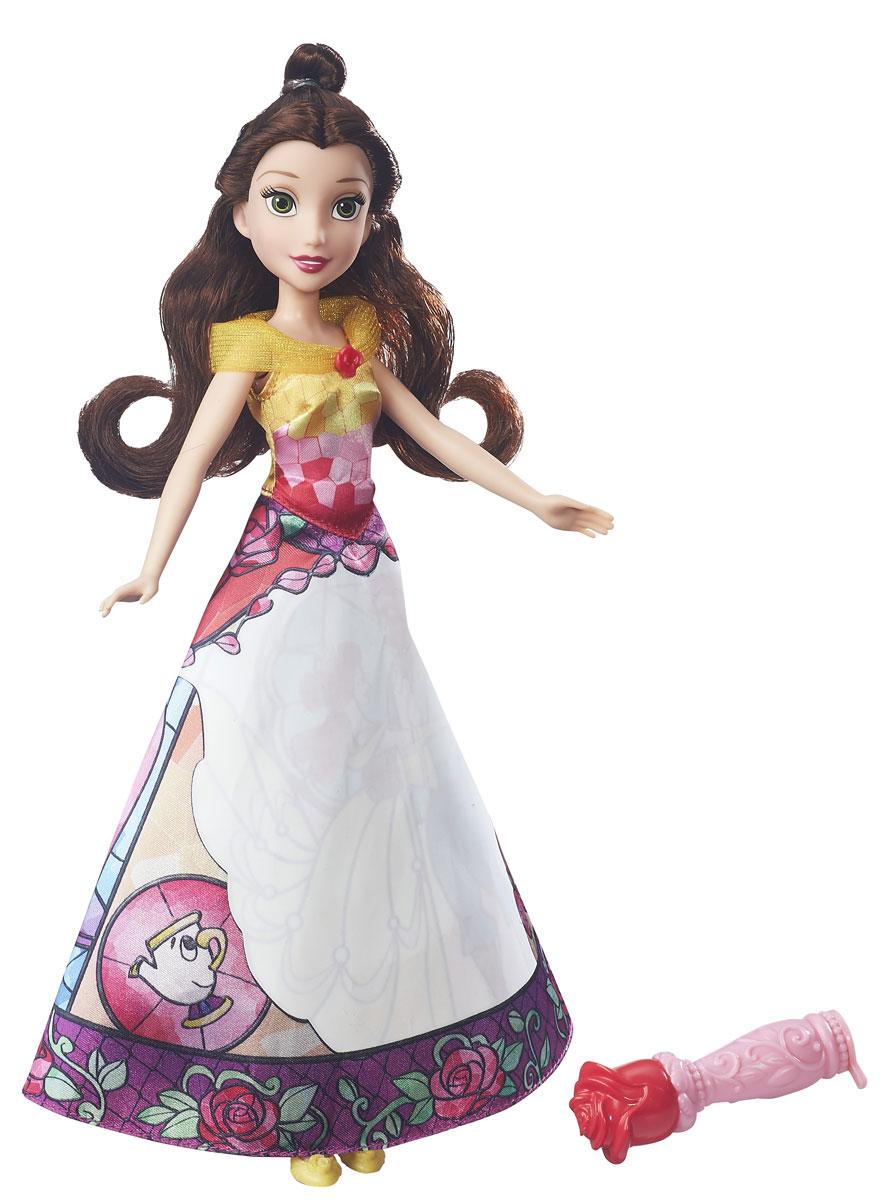 Disney Princess Кукла Бель в юбке с проявляющимся принтом disney princess кукла бель в юбке с проявляющимся принтом