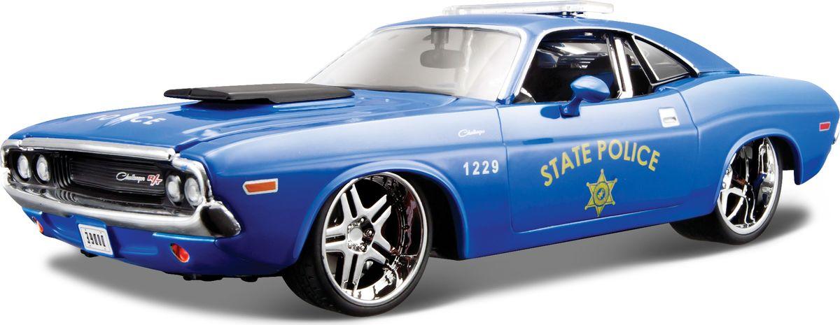 Maisto Модель автомобиля Dodge Challenger R/T Coupe
