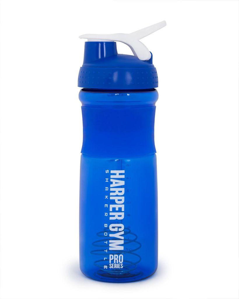 Шейкер Harper Gym Shaker Bottle, с венчиком, цвет: синий, 700 мл шейкер harper gym shaker bottle с венчиком цвет голубой 500 мл