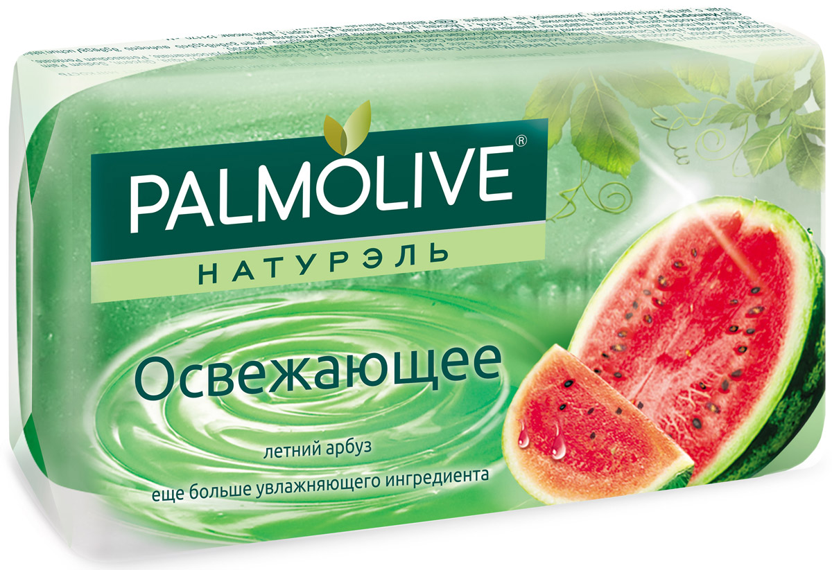 """Palmolive Мыло туалетное Натурэль """"Летний Арбуз"""", 90 г"""