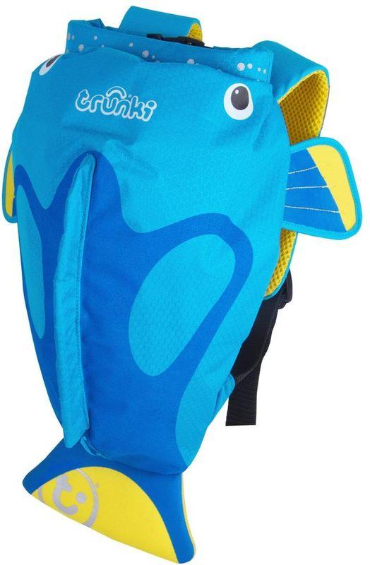 Trunki Рюкзак Коралловая рыбка 0173-GB01 детский рюкзак для бассейна и пляжа trunki осьминог цвет фиолетовый салатовый 7 5 л
