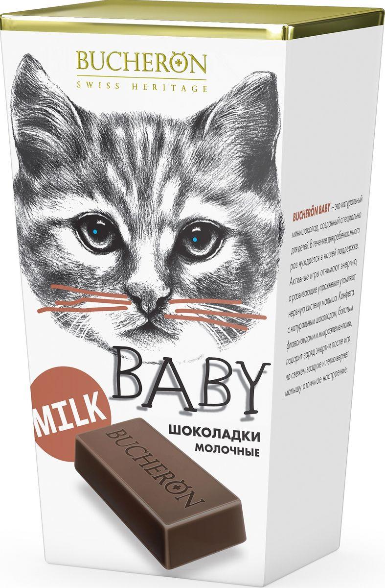 Bucheron Baby молочный шоколад Box, 171 г сhokocat кот менеджер молочный шоколад 50 г