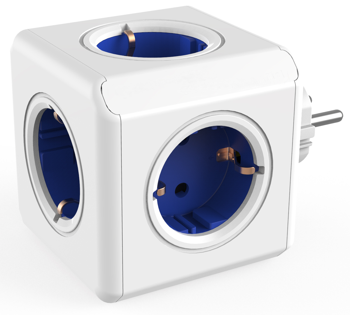 Allocacoc Original, Blue сетевой разветвитель