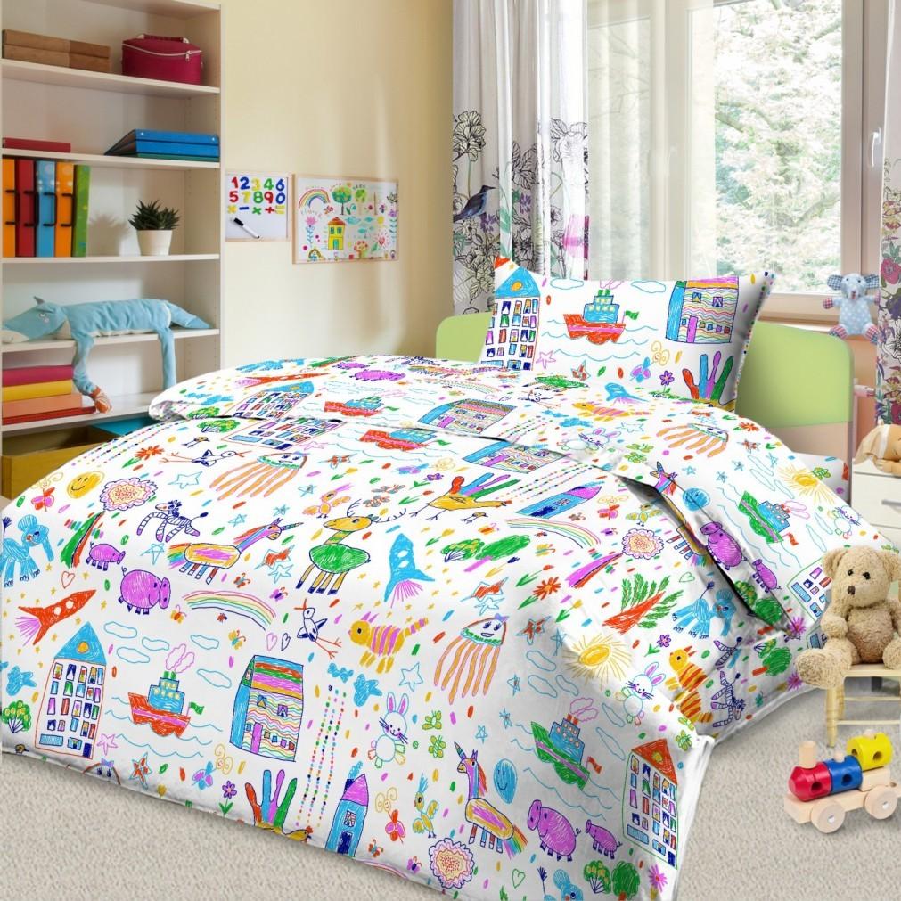 Комплект в кроватку Letto, цвет: белый. BGR-38